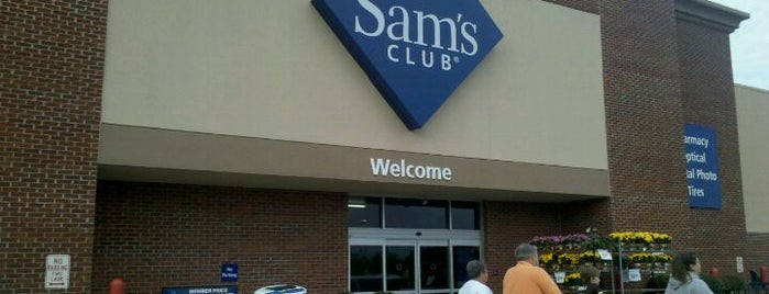 Sam's Club is one of AT&T Wi-Fi Hot Spots- Sam's Club #2.