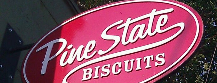 Pine State Biscuits is one of Diners, Drive-Ins, and Dives- Part 2.