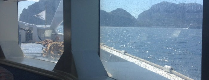 Ferry from Sorrento to Capri is one of Guide to Capri's best spots.