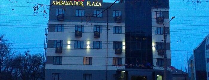 Ambassador Plaza is one of отели Киева.