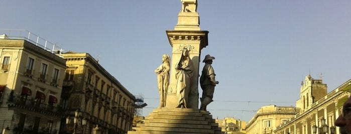 Piazza Stesicoro is one of Sicily.
