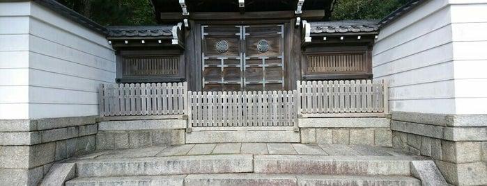 安徳天皇 阿彌陀寺陵 is one of 天皇陵.