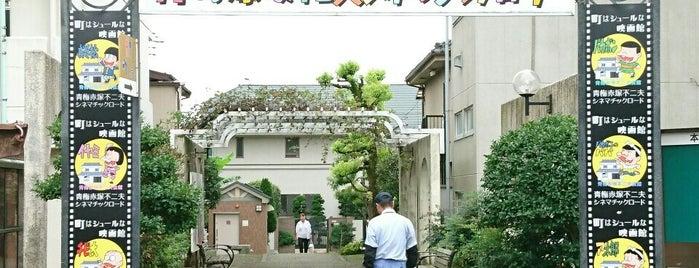 青梅赤塚不二夫シネマチックロード is one of lieu a Tokyo 3.