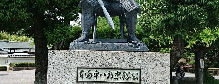 本多忠勝公像 is one of グレート家康公「葵」武将隊.