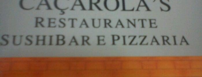 Caçarola's Restaurante Sushi Bar e Pizzaria is one of Restaurantes.