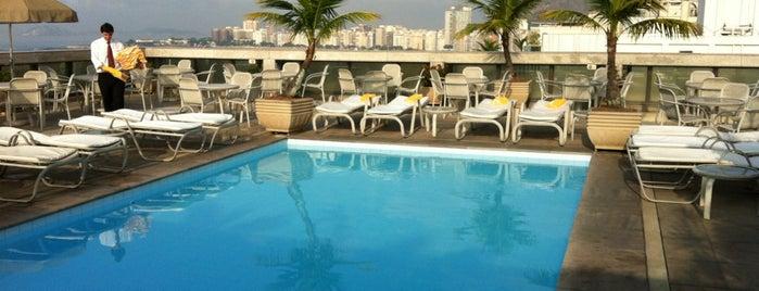 Windsor Excelsior Hotel is one of Partidas & Chegadas.