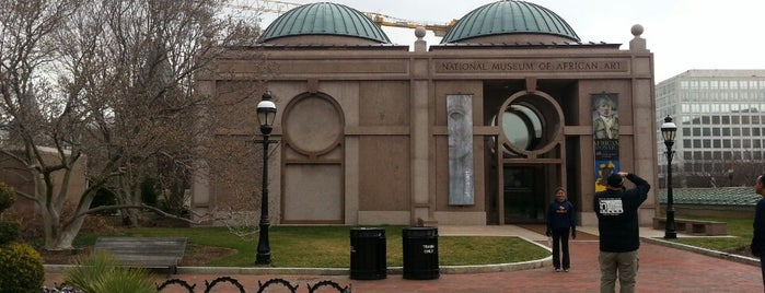 National Museum of African Art is one of The Arts in DC.