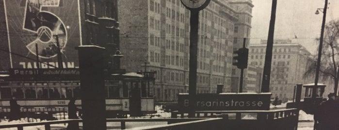 U Frankfurter Tor is one of U-Bahn Berlin.