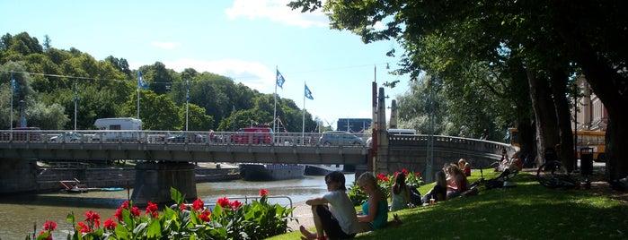 Aurajokiranta is one of Best in Turku.