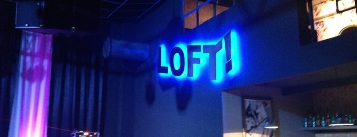Loft is one of BA party venues.