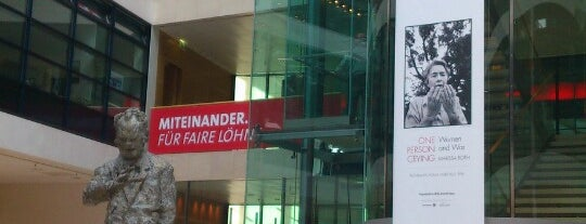 Willy-Brandt-Haus is one of Gewesen.