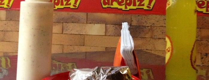 Arepiz is one of 20 favorite restaurants.