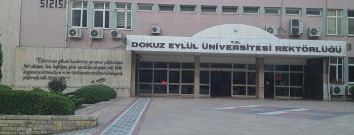 Dokuz Eylül Üniversitesi Rektörlüğü is one of Veni Vidi Vici İzmir 1.