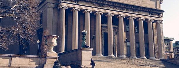 Columbia University is one of Architecture - Great architectural experiences NYC.