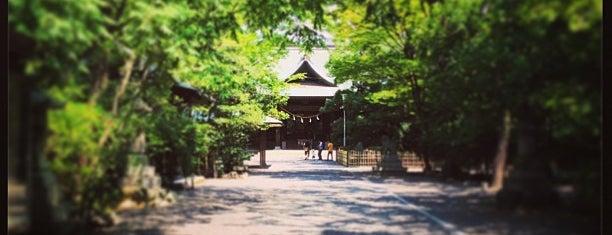 浜松八幡宮 is one of 思い出の場所.