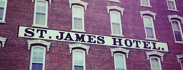 St. James Hotel is one of Hotels and Resorts.