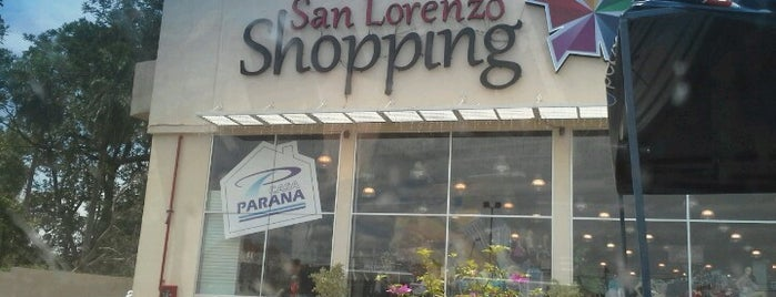 San Lorenzo Shopping is one of Favoritos.