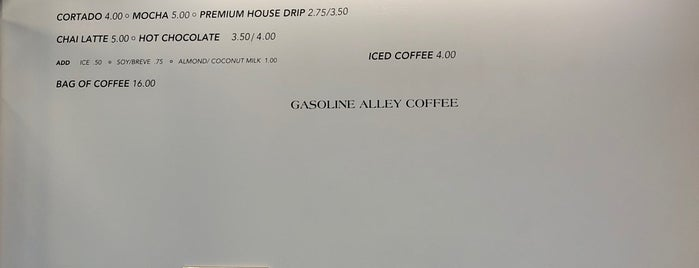 Gasoline Alley Coffee is one of New York best coffee shops: the ultimate list.