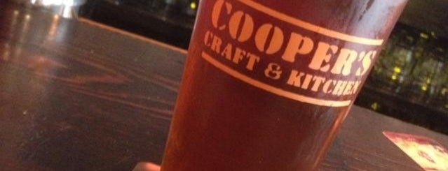 Cooper's Craft and Kitchen is one of Top Craft Beer Bars: NYC Edition.