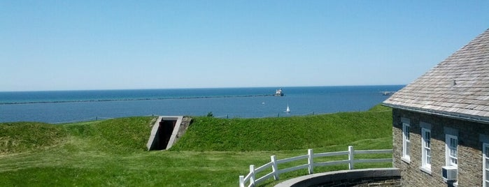 Fort Ontario State Historic Site is one of Best places in Oswego, NY.
