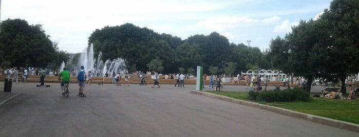 Roller School is one of Парк Горького.