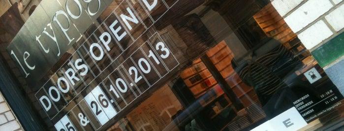 Le Typographe is one of Nos adresses japonaises à Bruxelles.