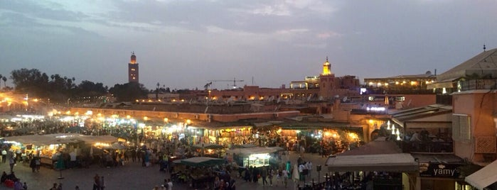 Place Jemaa el-Fna is one of Travel Guide to Marrakesh.