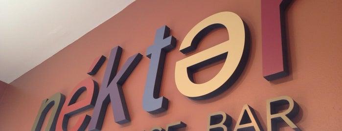 Nekter Juice Bar is one of SD: Food & Drinks.