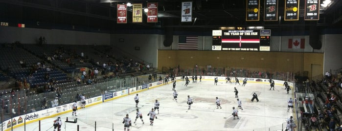 Rushmore Plaza Civic Center Ice Arena is one of Rapid City, SD.