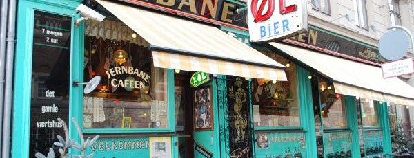 Jernbanecafeen is one of Copenhagen by Locals.