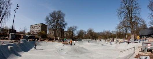 Fælledparkens Skatepark is one of Copenhagen by Locals.