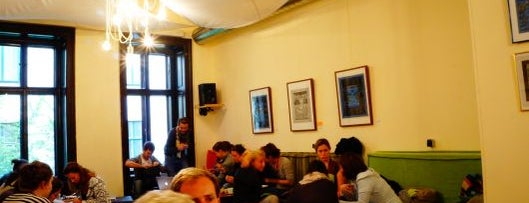 Weltcafé is one of Vienna's wheelchair accessible restaurants.