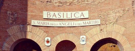 Basílica de Santa Maria dos Anjos e dos Mártires is one of Rome by Locals.