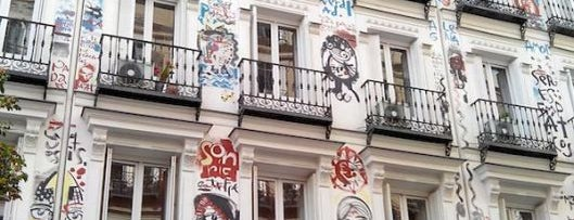 Calle Campoamor is one of Madrid by Locals.