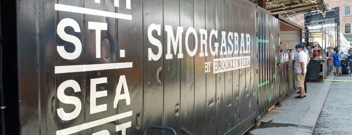 Smorgasbar @ Seaport Smorgasburg is one of Restaurants NYC.