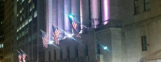 New York Stock Exchange is one of NYC.