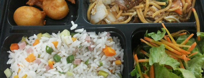 China in Box is one of favorite restaurants.
