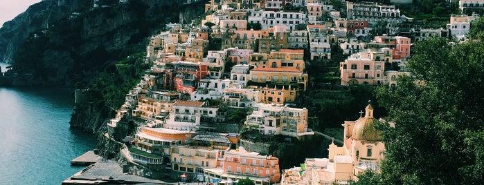 Positano Marina is one of Travel Guide to Amalfi Coast.