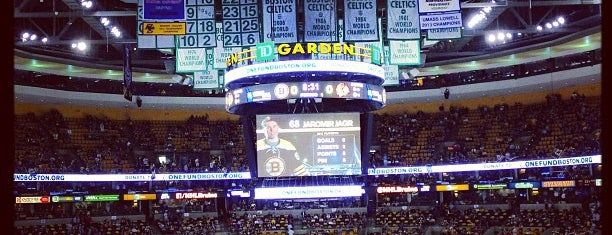 TD Garden is one of NHL Arenas.