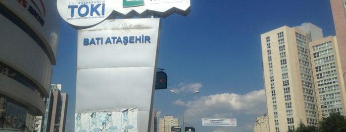 Batı Ataşehir is one of Atasehir'de yaşam.