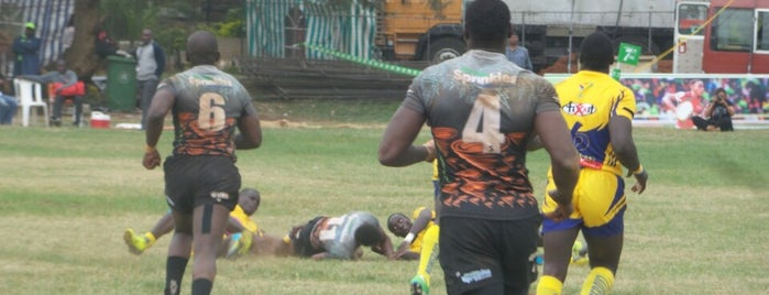 Mwamba Rugby Football Club is one of Best hangout places.