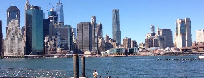 Brooklyn Bridge Park Boathouse is one of B. Locations.