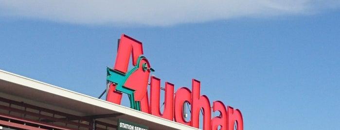Auchan is one of Mayor au moins une fois.