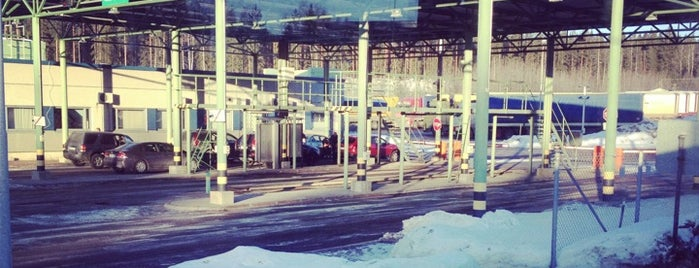 Brusnichnoye Border Crossing Point is one of стафф.