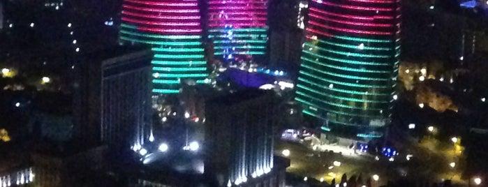 Teleqüllə | TV Tower is one of Restaurants in Baku (my suggestions).