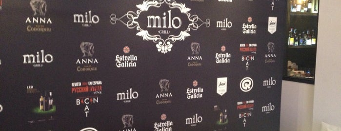 Milo Grill is one of Tapeo en Barcelona.