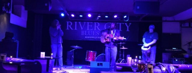 River City Blues Club & Dart Room is one of Roadtrippin.