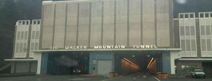 Big Walker Mountain Tunnel is one of Virginia Summer Road Trip.