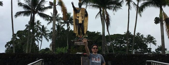 King Kamehameha Statue, Hilo is one of Big Island.