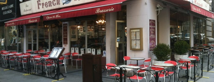 French Roast is one of NYC 24h restaurants.